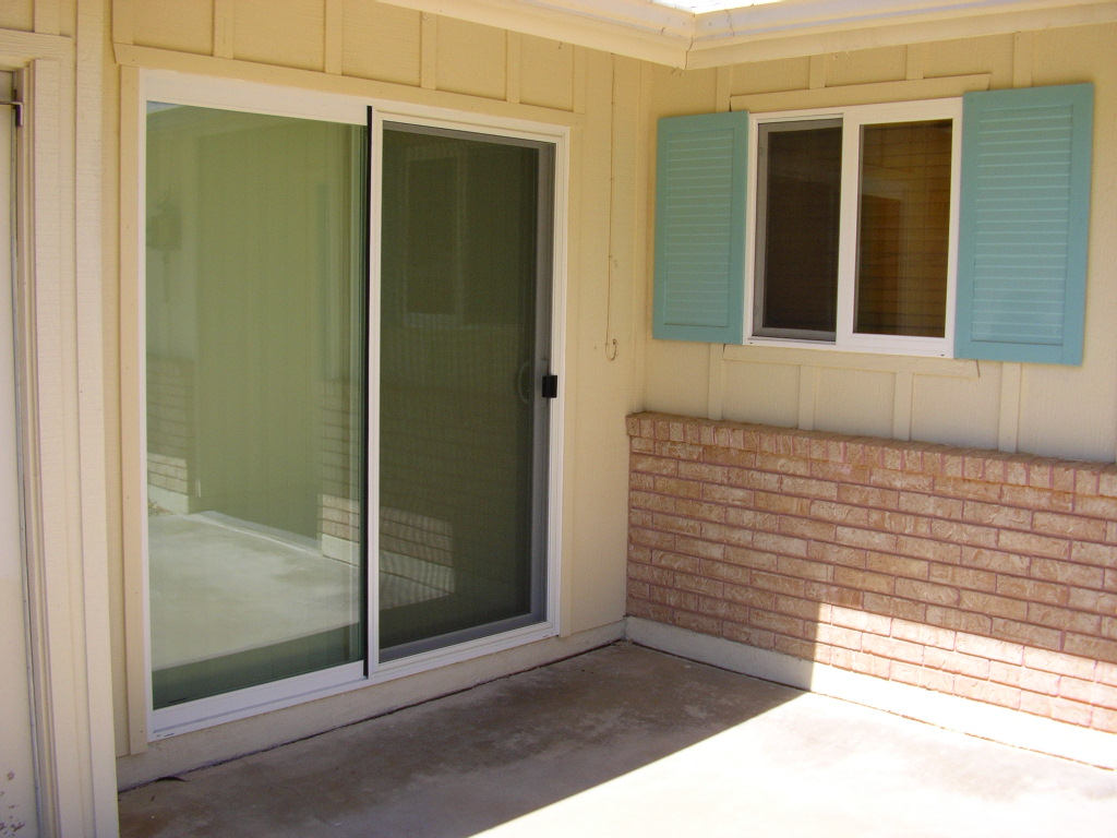 Vinly Sliding patio door & window- Sun City, AZ.