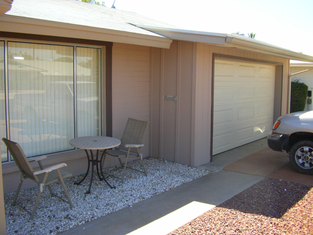 Garage enclosure- Sun City, AZ.