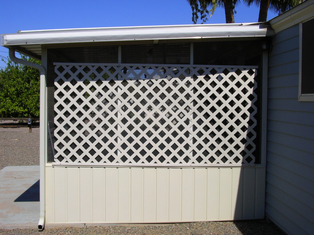 Aluminum Patio Cover, Screened Enclosure- Sun City, AZ
